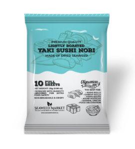 10 Full Sheets Nori Seaweed Market - European supplier