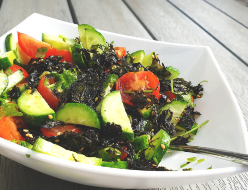 Seaweed Flakes – topping for many traditional salads
